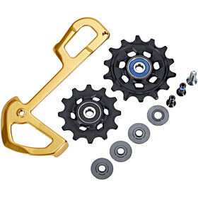 SRAM X-sync and inner cage for XX1 Eagle rear derailleur gold
